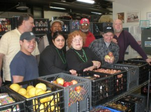 Food Bank Staff and Volunteers