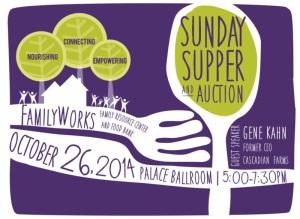 2014 Sunday Supper